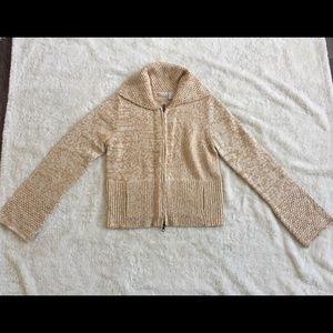 Rubbish, camel sweater, size M